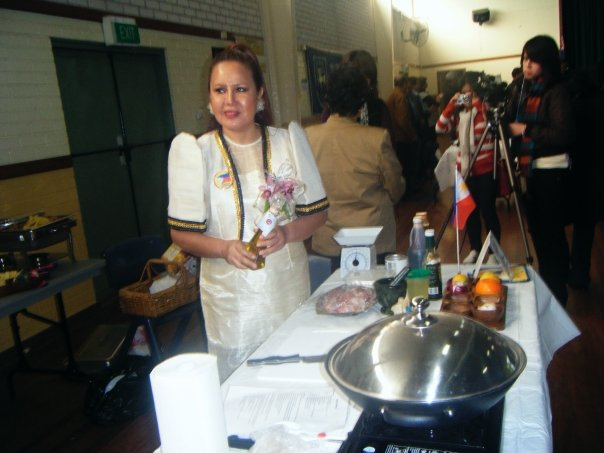 Neria Soliman as Pinoy Master Chef 2009