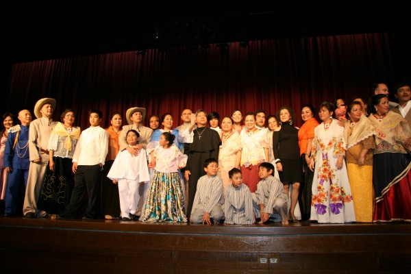 Cast and crew of the play. Photo credit: Michelle Baltazar