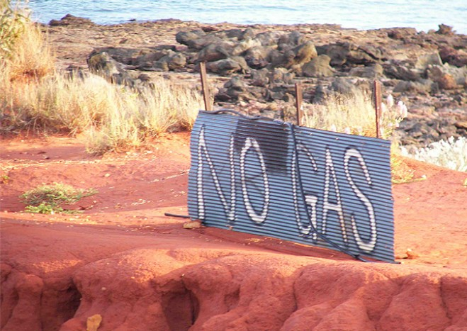 No gas sign off the Kimberley coast
