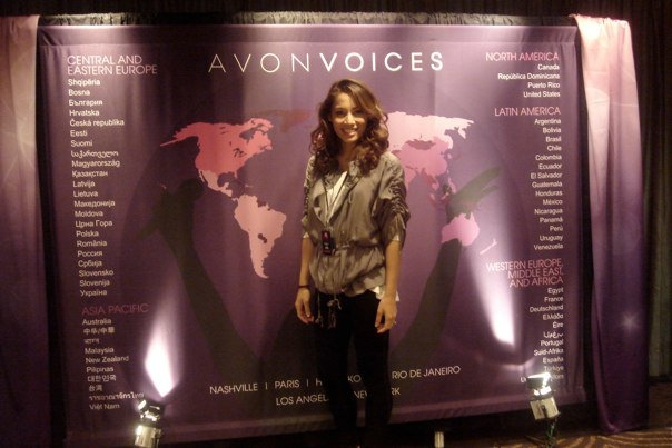 Vee at the Avon Voices