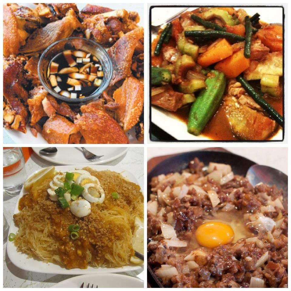 Sizzling Fillo dishes